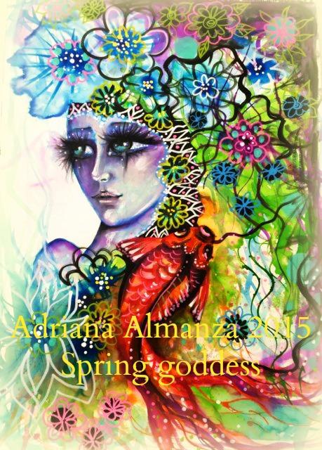 spring-goddess
